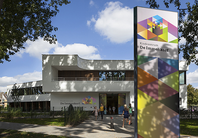 Michaelschool, Hillegersberg, Rotterdam, de Zwarte Hond architecten, ©2014